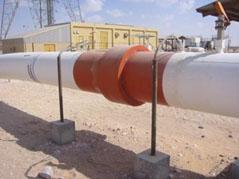 Катодная защита трубопровода приложенным током