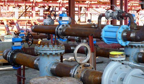 Ремонтные работы на сооружении продуктопровода