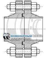 Фланцы соединение шип-паз фото
